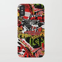bands iPhone & iPod Cases featuring BANDS by DIVIDUS