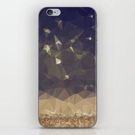 Glitter Rain iPhone Skin