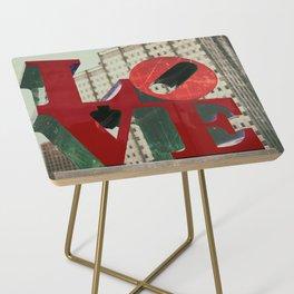 Love Sign Philadelphia Side Table