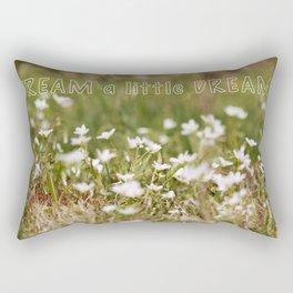 Dream a little Dream Rectangular Pillow