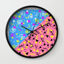 SAVED BY THE 90'S Wall Clock