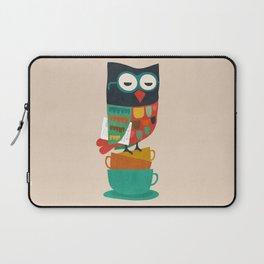 Morning Owl Laptop Sleeve