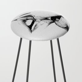 Universe kiss. Counter Stool