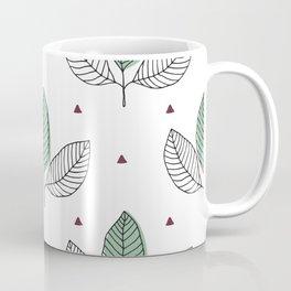 Linear Leaves Coffee Mug