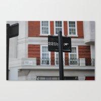 221b Canvas Prints featuring 221B by Sandrine Bandura