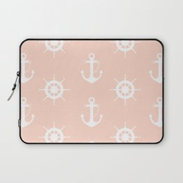 AFE Anchor and Helm Wheel Laptop Sleeve