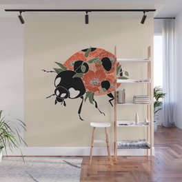 LADY BUG Wall Mural
