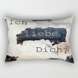 i love you ??? Rectangular Pillow