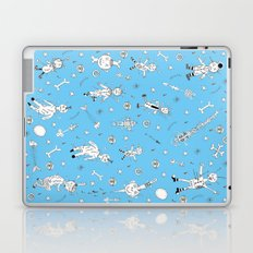 voodoo dolly pattern Laptop & iPad Skin