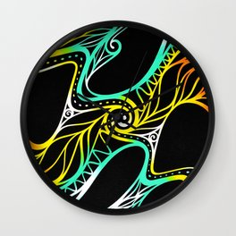 Time's threads Wall Clock