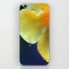 A drop of yellow iPhone & iPod Skin