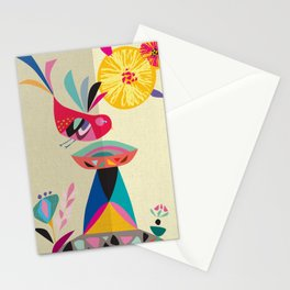 Bird Bath Stationery Cards
