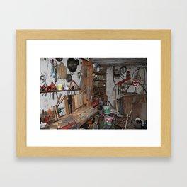Beloved Garage Framed Art Print