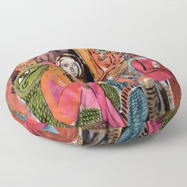 Tantric Carnival Floor Pillow