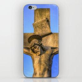 Jesus Statue iPhone Skin