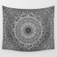 islam Wall Tapestries featuring Ash Mandala by Mantra Mandala