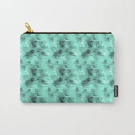 Patched Teal Waters Carry-All Pouch