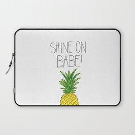 Pineapple Shine On Laptop Sleeve