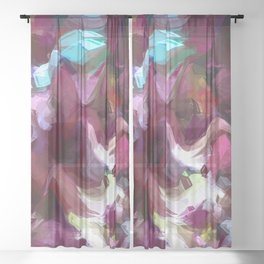 Munsell Bloom Sheer Curtain