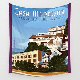 Casa Madrona Wall Tapestry