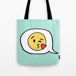 Emoji - Winky Face Tote Bag