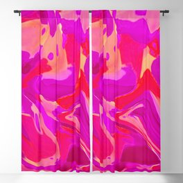 Tulip Tangle Blackout Curtain