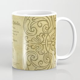 Shakespeare. Othello, 1622. Coffee Mug