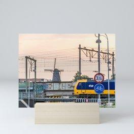 Sunrise Commute Mini Art Print