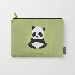 Mindful panda levitating Carry-All Pouch