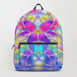 Floral Fractal Art G307 Backpack