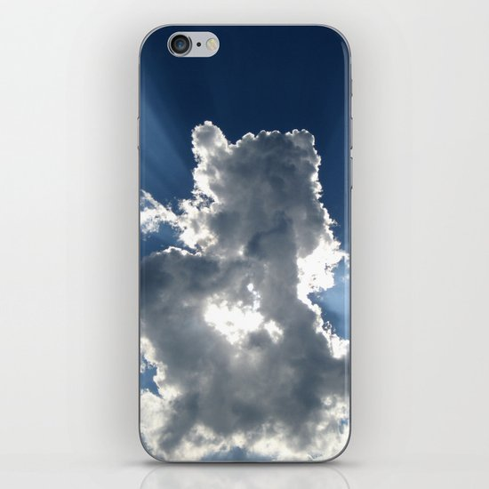 Cloud & Sunbeam iPhone Skin
