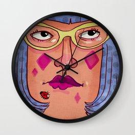 Glasses - Cat Eye Wall Clock