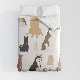 All Kinds of Dogs Comforters