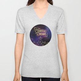 The Court of Dreams - ACOMAF Unisex V-Neck