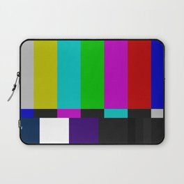 SMPTE Color Bars (as seen on TV) Laptop Sleeve