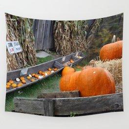 Pumpkin Patch Wall Tapestry