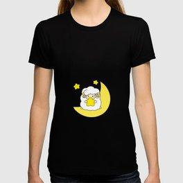 Cute sheep on the moon T-shirt