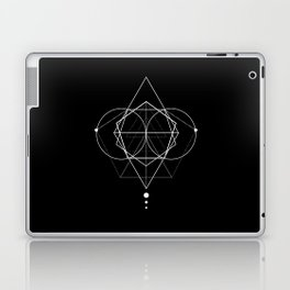 Rhombus dots geometry Laptop & iPad Skin