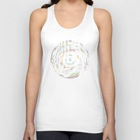 record Tank Tops featuring Rainbow Record by Project M