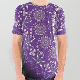 Ancestors (Purple) All Over Graphic Tee