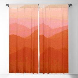 Hunter Mountain Cinnamon Blackout Curtain