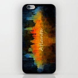 Atlanta City Skyline UHq v4 iPhone Skin