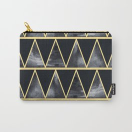 Abstract dark night Carry-All Pouch