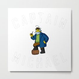 Captain miehael Metal Print
