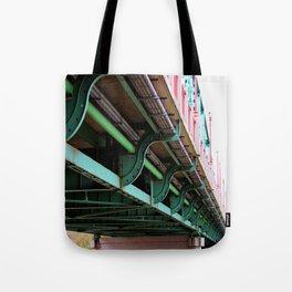 The Ferry Street Bridge Eugene Oregon.  Tote Bag