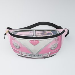 Pug Girly Adventure Fanny Pack