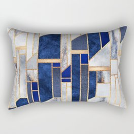 Blue Winter Sky Rectangular Pillow