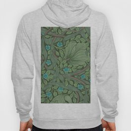 "William Morris ""Forget-Me-Nots"" (""Pimpernel"" detail) Hoody"