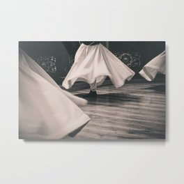 Whirling Dervish 2 Metal Print