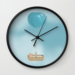 Baby from heaven Wall Clock